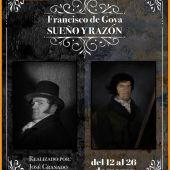 Cartel de la exposición de Francisco de Goya