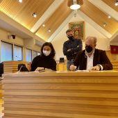Firma del convenio entre Zamora y Nieto