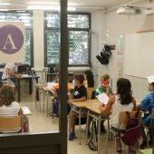 Des del 14 de setembre, les aules han estat obertes de forma generalitzada.