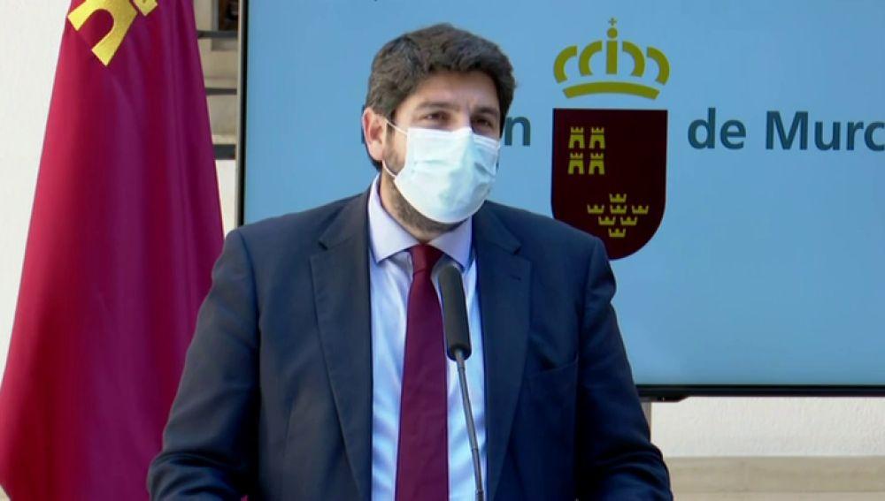López Miras confirma el fracaso de la moción e incluye en el Gobierno a los tres diputados de Ciudadanos con los que ha pactado