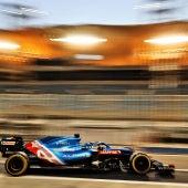 Estreno de Fernando Alonso con Alpine