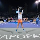 Sara Sorribes hace historia con su primer título WTA