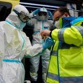Los sanitarios se preparan para luchar contra la pandemia