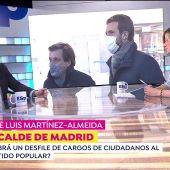 José Luis Martínez Almeida, en Espejo Público