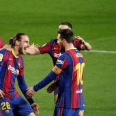 El Barça gana al Huesca y se pone a solo 4 puntos del Atlético en la lucha por la Liga