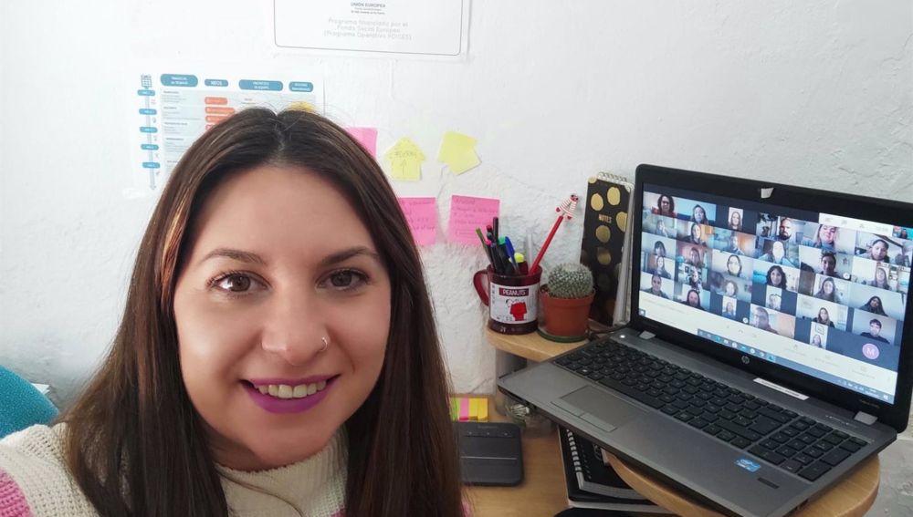 Ángela Pedraza, técnico de la Lanzadero de Empleo