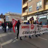 La marcha sindical se ha celebrado en Valdepeñas