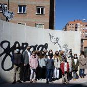 Monumento homenaje a Forges en Alcalá de Henares