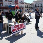 La Cofradía del Santo Entierro sale a la calle con mesas petitorias