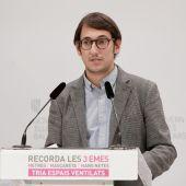 Iago Negueruela, portavoz del Govern