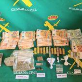 La Guardia Civil detiene a dos personas en Guardo por tráfico de drogas