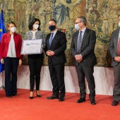 La Gerencia de Alcázar de San Juan recibe el premio a la excelencia y calidad en la prestación de servicios públicos