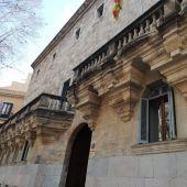 Fachada del TSJIB y la Audiencia Provincial.