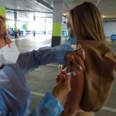 Vacunación de docentes con AstraZeneca