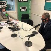 Javier Ceruti con Javier Barbero