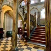 Escalera Colegio Calasanz Alcalá de Henares
