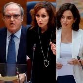Candidatos a las elecciones del 4M
