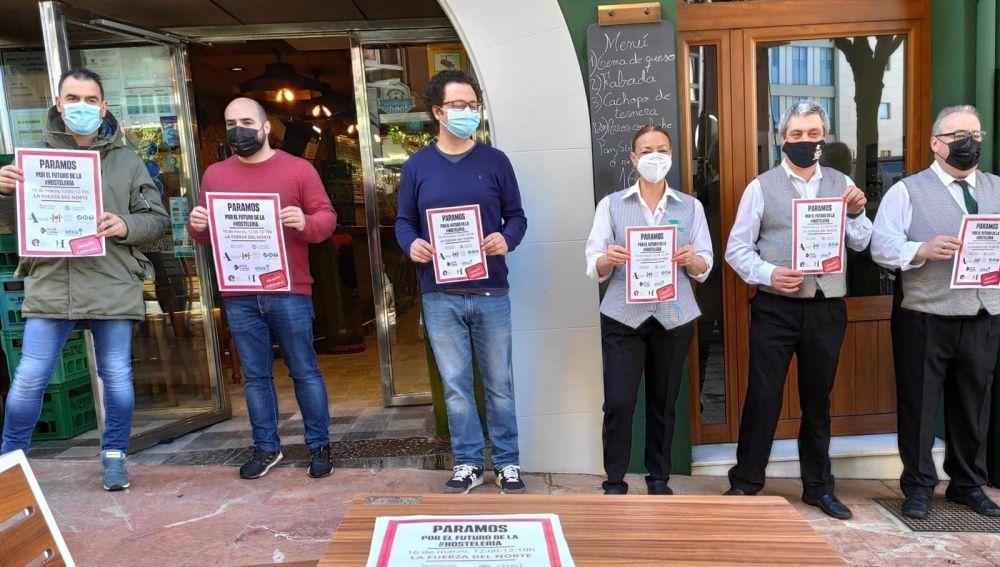 Paro de hosteleros en Gascona