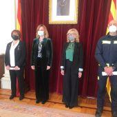 Pilar Guerrero y Joaquín Abiol, Medallas al Mérito de la Protección Civil
