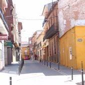 Calle de La Solana donde se encontró la cartera