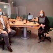 El alcalde de Palma, José Hila, visita los estudios de Onda Cero Mallorca para una entrevista en MÁS DE UNO MALLORCA con Elka Dimitrova.