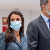 La Reina Letizia en su visita al nuevo Hospital de Toledo el pasado mes de noviembre