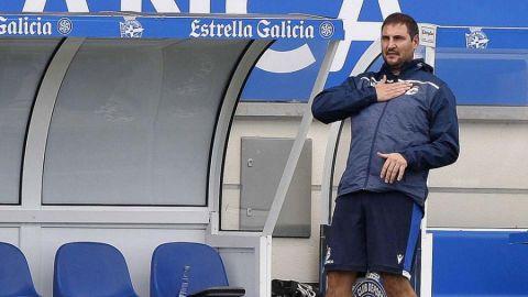 Manu Sánchez, entrenador del equipo femenino del Deportivo de La Coruña