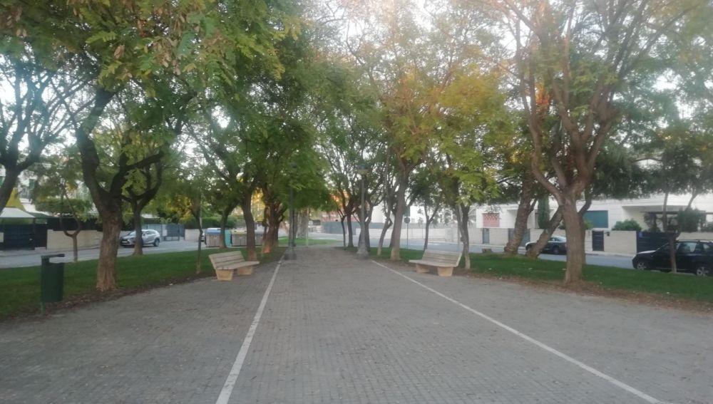 Parque en Elche.