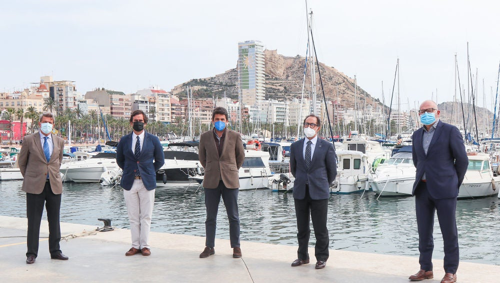 La presentación de la XXV Tabarca Vela Diputación de Alicante.
