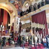 El Oratorio de las Penas con el Cristo de la Agonía y la Virgen de las Penas