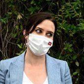 Isabel Díaz Ayuso en una acto en el parque Juan Carlos I