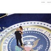 """Trump lanza su nueva página web para """"preservar su legado"""" tras la suspensión de sus redes sociales"""