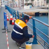 Los puertos de Eivissa y la Savina se comprometen a reparar desperfectos  en 12 horas laborables