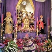Cofradía de la Sentencia en la Iglesia de Santiago