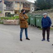 Una imagen de la visita
