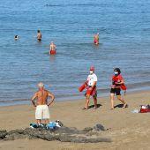 Playa de las Canteras en Gran Canaria
