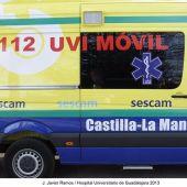 Una UVI móvil trasladó al menor al Hospital de Alcázar