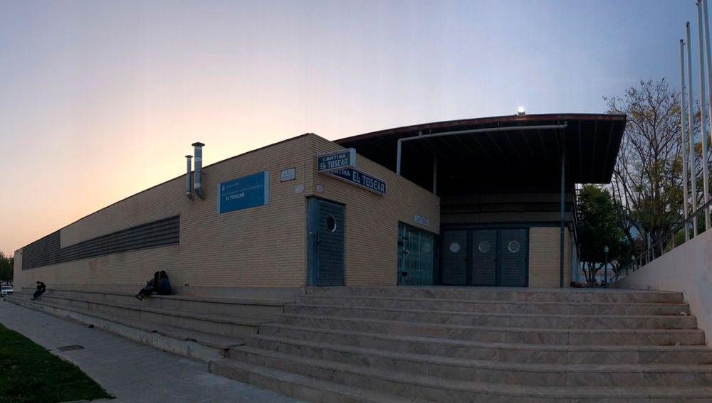 Pabellón deportivo El Toscar de Elche.