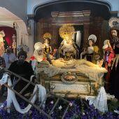 La Cofradía de Monte Calvario en la Iglesia del mismo nombre