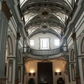 La Iglesia de San Juan Bautista en el centro de Málaga