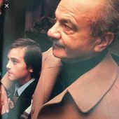 Astor Piazzolla y su nieto Pipi