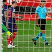 Atlético de Madrid contra el Sevilla
