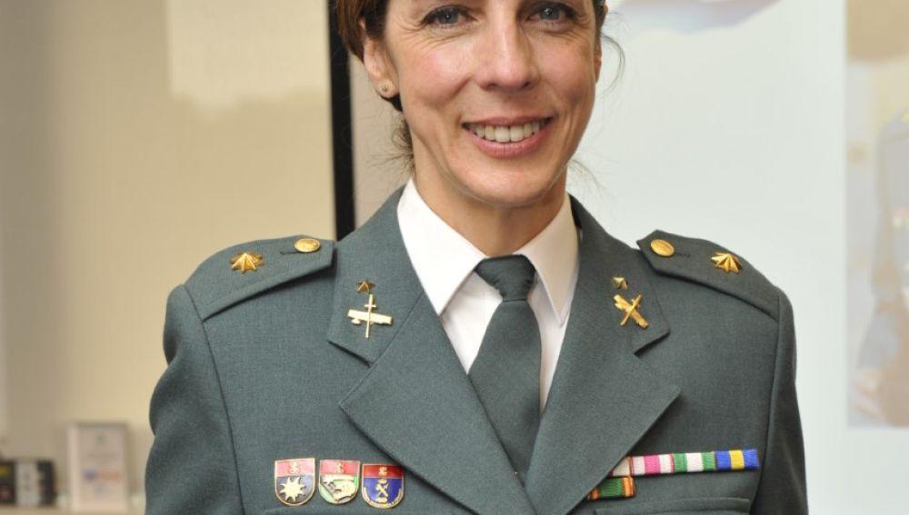 La teniente coronel Silvia Gil
