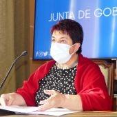 Clara Luquero, alcaldesa de Segovia