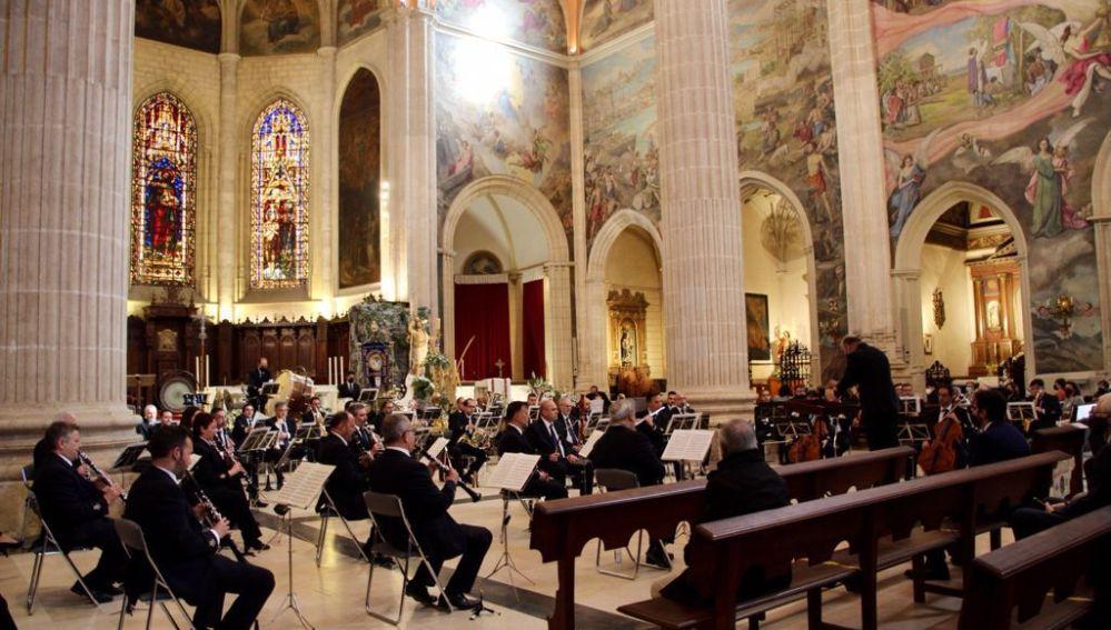 Celebración de un concierto en la Catedral de Albacete