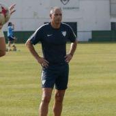 Paco Ruiz, entrenador de porteros del Málaga CF