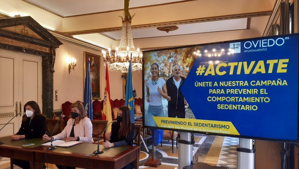 Campaña #Actívate en Oviedo para promover la actividad física