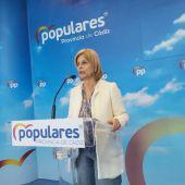 María José García-Pelayo en rueda de prensa