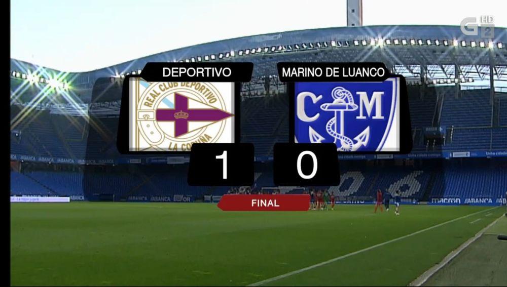 Deportivo 1-Marino de Luanco 0