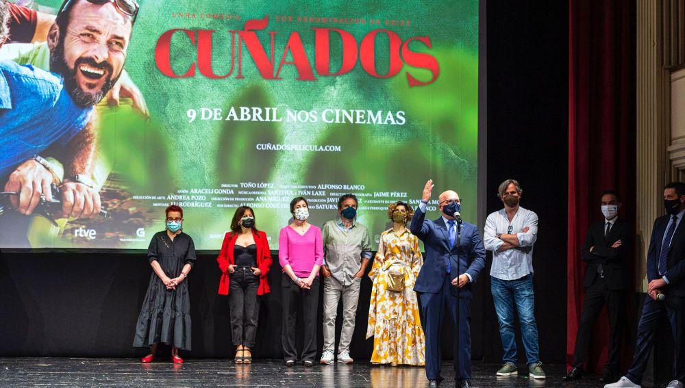 Ourense, protagonista da estrea da comedia galega Cuñados